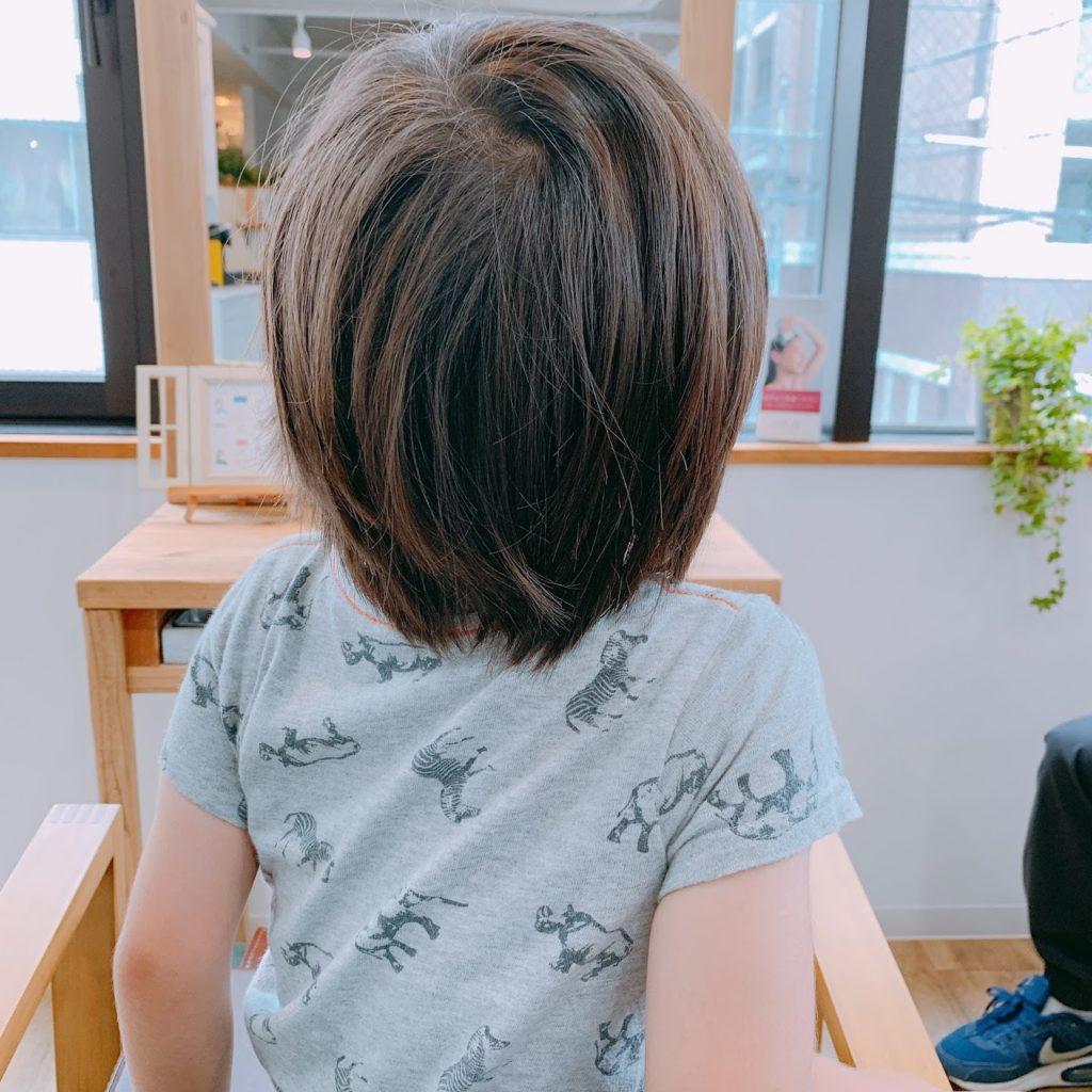 神戸 三宮 子供カット