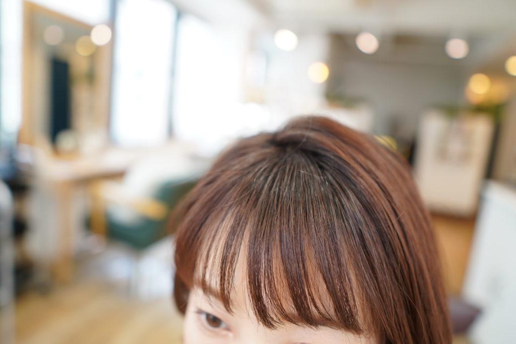 シースルーバング 神戸 三宮 美容室