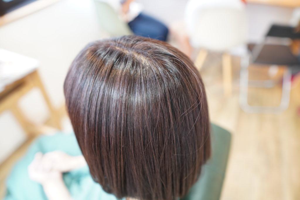 神戸 三宮 オイルカラー  白髪染め
