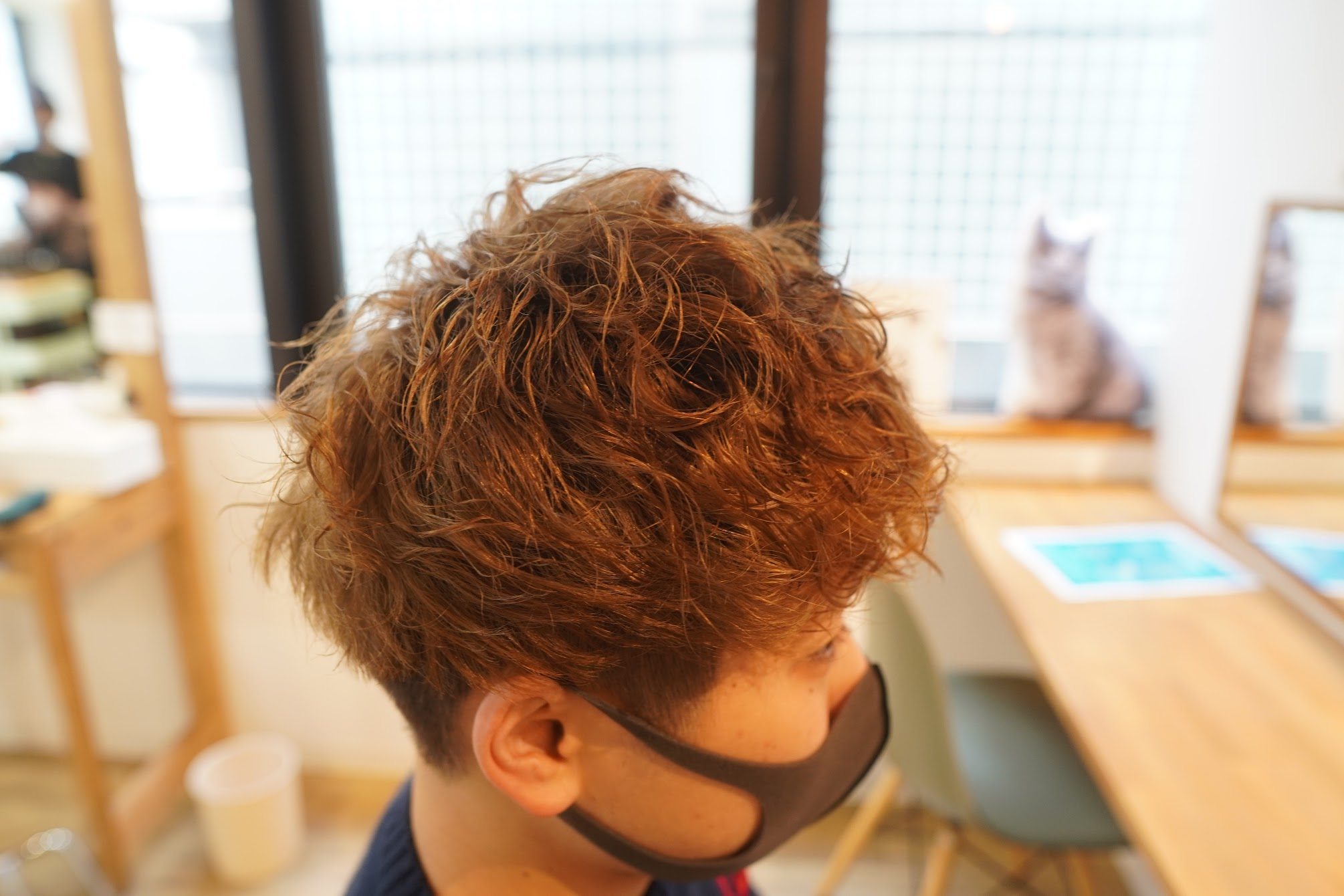 三宮美容室 神戸美容室 メンズパーマ メンズカラー 初パーマ 初カラー メンズカット