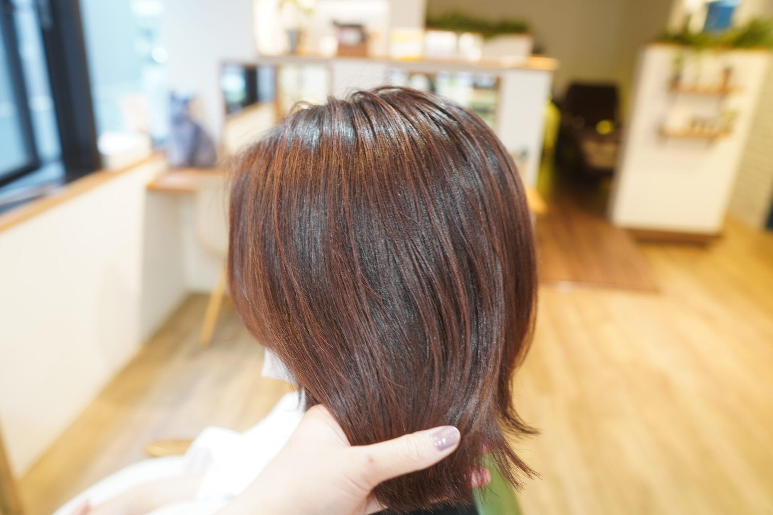 イノアカラー イノア イノアカラーピンク イノアピンク 三宮美容室 神戸美容室