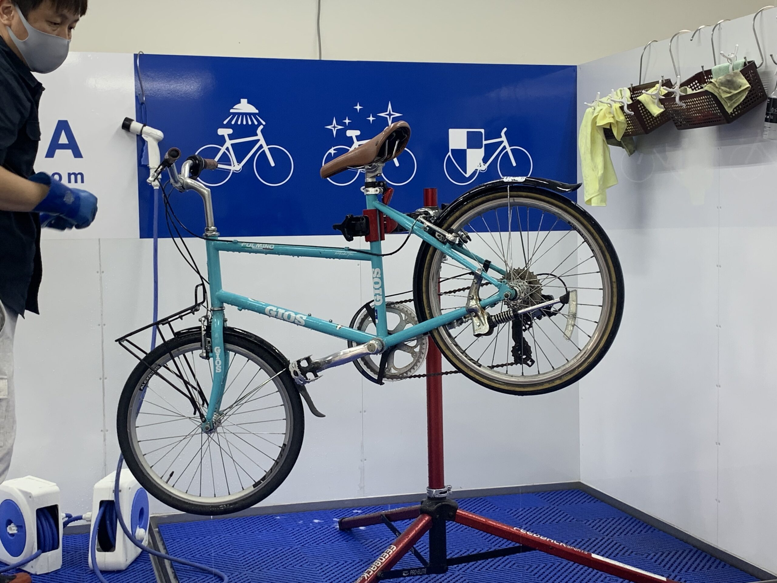 神戸 三宮 春日野道 自転車 メンテナンス 洗車 点検 丸洗い